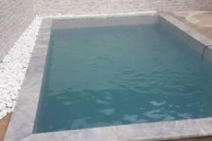 Réalisation d'une piscine 5 x 3 sur Lyon