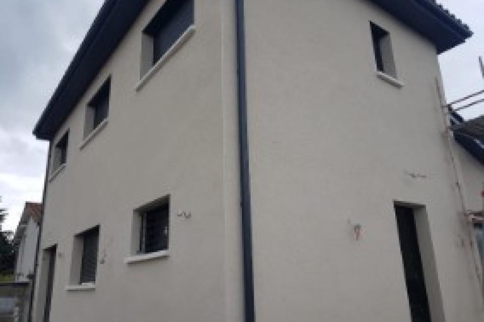 Ravalement de façade.